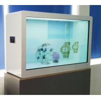 Capacitor Touch 55 Inch Transparent Showcase , ROHS LCD Transparent Display