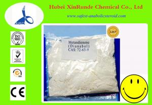 China CAS 72-63-9 Bodybuilding Oral Anabolic Steroids Dianabol / Methandienone Bodybuilding on sale