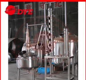 China 5BBL Custom Steam Distillation Apparatus , Ethanol Distillation Column on sale