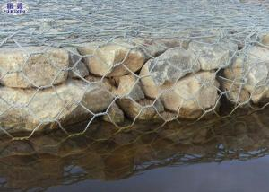 China Pvc Coated Galvanized Erosion Control Gabion Baskets For River / Bank Slope on sale