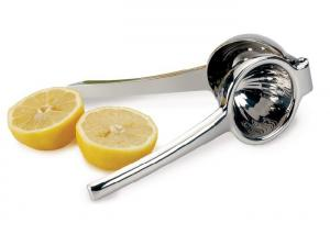 China Hand - Operated Stainless Steel Lime Squeezer Citrus Juicer / Lime Juice Extractor on sale