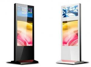 China Fashion 55 Inch Outdoor Interactive Kiosk Advertising Lcd Display Ultra Thin High Brightness on sale