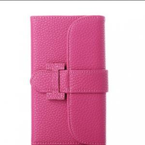 China Best Quality Women Book Flip Leather Case With Belt For Iphone 6 (4.7) on sale