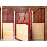 Temporary Wood Portable Horse Box Stalls Swing Stall Gates Available Custom