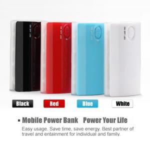China 4400mAh LED light power indicator external Iphone 4S battery backup mobile power bank on sale