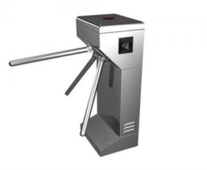 China Waterproof Automatic Systems Turnstiles Flap Gate Barrier DC Brushless Motor on sale