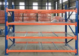 China Wire Mesh Decking Heavy Duty Pallet Rack Industrial Galvanized Robot Welding on sale