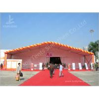 Professional White Commercial Commercial Marquee Hire 100 km / h Wind Load