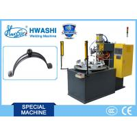 Steel Pipe Clamp / Pipe Hold Welding Machine, CNC Spot Welding Machine With Rotary Table