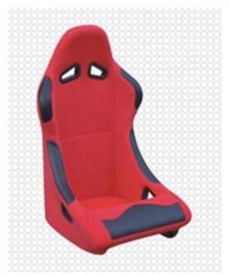 China Custom Pineapple Bucket Racing Seats With Backrest Angle Adjustment on sale