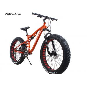 China Classic Environment Friendly Electric Fat Tire Snow Bike , Electric Assist Fat Bike on sale