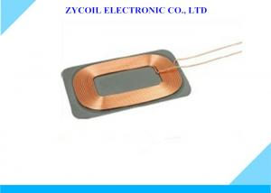 China Self-Bonding Copper Wire Flat Spiral Qi Coil For Mobile Phone Receiver on sale