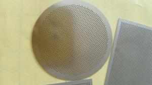China micro hole perforated metal sheet  / stainless steel sieve etching plate on sale