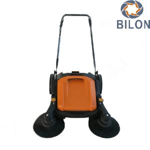 China Electric Snow Sweeper Machines Hand Push Type Power Snow Brush Sweeper on sale