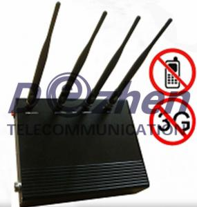 China 5-Band Cell Phone Signal Jammer on sale