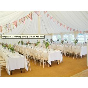 China Hard Pressed Extruded Aluminum Alloy High Peak Wedding Event Tents For Party And Events on sale