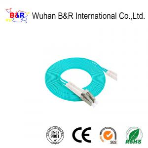 China G657A 1 Core OM3 Fiber Optic Cable Patch Cord on sale