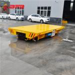 Remote Control Pallet Transfer Carts , Industrial 1 - 300T Coil Transfer Cart