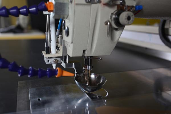 Robotic Arm Programming CNC Sewing Machine With Automatic Point Pen New Automated Sewing Machine Co Ltd