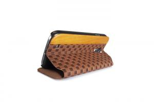 China Stand Leather Flip Magnet Phone Case Samsung Galaxy S4 Folio Case for Smart Phone on sale