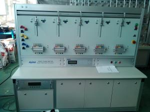 China HS6303E Three Phase Equal-Potential Energy Meter Test Bench MAX.24 Positions Max.120A Close-link meter on sale