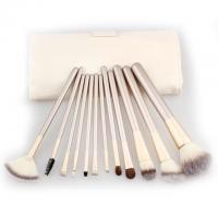 12/18/24 sticks Champagne Color Set Persian Hair White Makeup Brush Wholesale Makeup Brush