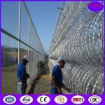 450mm/600mm/900mm/1050mm保護のための熱い浸された電流を通されたアコーディオン式かみそりの有刺鉄線