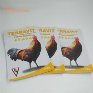China Recyclable Plastic Pet Food Pouch Customized Thickness With Logo Printing on sale