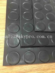 China Safety Black Flooring Non Slip Rubber Matting Goat Mattress , Long Life Span on sale