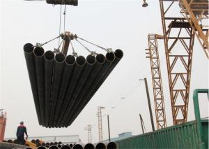 China SAW steel tubular piles water steel pipes ASTM A252 A500 Gr.2 Gr.B steel pipe Metal Steel Pipe on sale