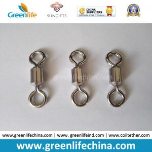 China High Strength Sea Saltwater Stainless Steel Polishing Shinning Fishing Rolling Swivels on sale