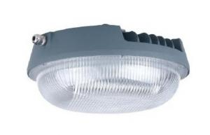 China Round Retrofit led gas station canopy lights , 80W 120W under canopy lighting on sale