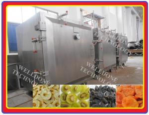 China 80% Drying Efficiency Vacuum Tray Dryer Less Heat Loss For Fruit Drying on sale