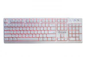 China Ergonomic Multimedia Gaming Keyboard Waterproof Membrane Keyboard on sale