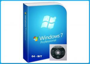 China Activation online Windows 7 Pro Retail Box 32/64 Bits OEM Product Key COA on sale