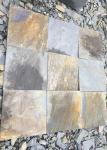 Natural slate culture stone sawn cut split China 30x30cm 40x25cm 60x25cm