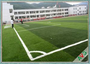China FIFA Standard Multi - Functional Soccer Field Artificial Turf 12000 Dtex Water-Saving on sale