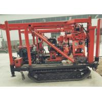 China Easy Operate Crawler Mounted Drill Rig For Stone Bore Hole on sale