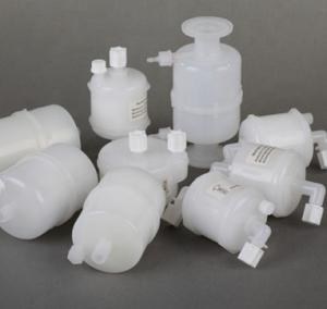 China Replacement PTFE Disposable Capsule Filter 0.2 Micron For Air Vent Sterile Filtration on sale