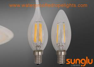 China Milky Glass G35 LED Filament Light Bulbs Easy Install Frosted LED Light Bulbs E14 / E27 on sale