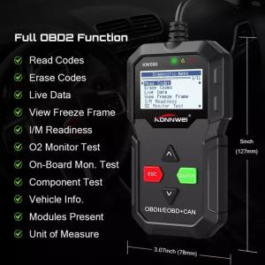 China 2020 OBD Diagnostic Tool KONNWEI KW590 Car Code Reader automotive OBD2 Scanner Support Multi-Brands Cars&languages Free on sale
