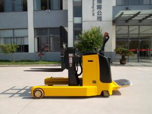 China Heavy Duty Warehouse Lift Equipment Electric Reach Stacker with 600mm Mast on sale