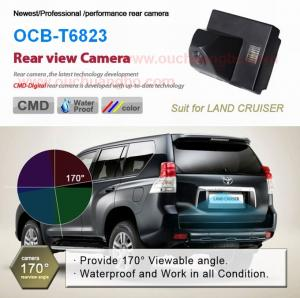 China Ouchuangbo Car parktronic CCD Car rear view backup Camera for Toyota Land Cruiser OCB-T6823 on sale