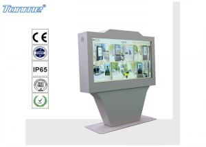 China Network Outdoor LCD Display 60 , OEM Digital Signage Advertising Player 2000 Nits on sale