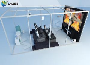 China 12D Luxury Black Chair 3 DOF Home Theatre Equipment Pneumatic Syetem Simulator on sale