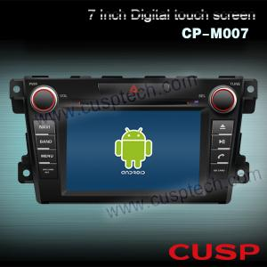 China CP-M007 7 inch Android system car DVD gps navigation car radio player for MAZDA CX-7 2007-2012 on sale