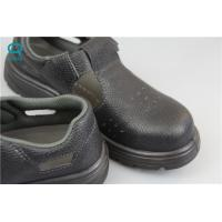 China Industrial ESD Safety Shoes with Steel Toe Mens , Black Color on sale
