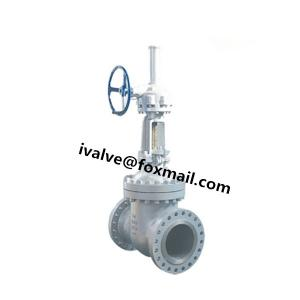 China 24 Inch API 6D Cast Steel Gate Valve (WCB Gate Valve) on sale