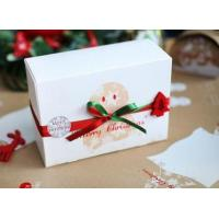 Customized Paper Small Christmas Gift Boxes / Xmas Wrapping Boxes