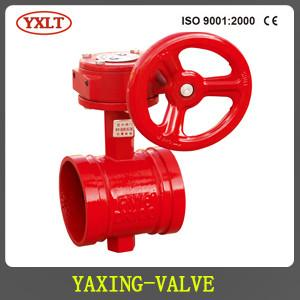 China AWWA C515 Grooved Butterfly Valve on sale